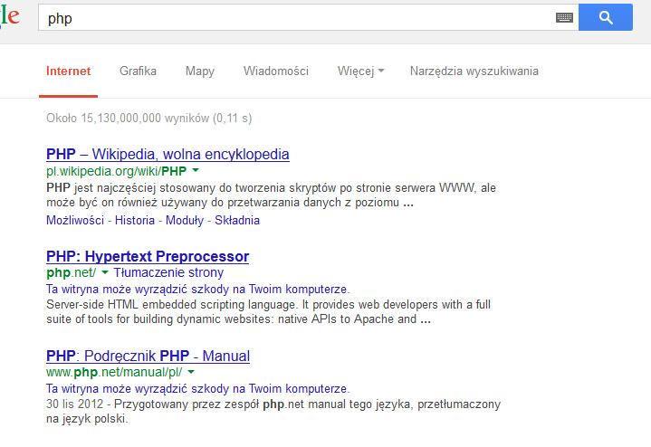 php.net zainfekowane?